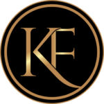 black and gold KF icon